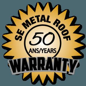 SE Metal Roof 50 Years Warranty
