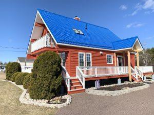 Moncton SE Metal roof